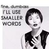 wildcard_47: (Isabella Rosselini - dumbass)