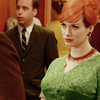 wildcard_47: (Mad Men - joan is not amused)