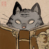 thistlechaser: (Book: Cat looking over)