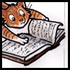 thistlechaser: (Book: skeptical cat)