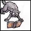 thistlechaser: (Book: Scared cat)