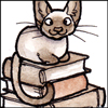 thistlechaser: (Book: Cat on stack)