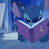 mortuus: (Stitch reading by elvishdesire)
