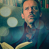 uberniftacular: (Celebs: Hugh Laurie reading)