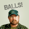 uberniftacular: (SPN: Bobby says BALLS)