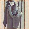 vae: image of the Hermit from the Londa tarot (gen: hermit)