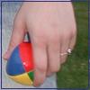 accozzaglia: (juggling ball)