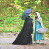theogrehums: ([Once Upon A Time] Belle & The Queen)