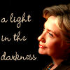 aintshesweet_x: ([Politics] -- Clinton; light)
