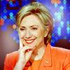aintshesweet_x: ([Politics] -- Clinton; smile)