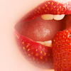 sapphoatsunset: (Strawberry Lips)