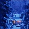 gem225: (snowy cabin by carolinecrane)