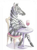 gem225: (zebra with wine)