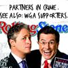 gem225: (wga partners in crime stewart colbert)