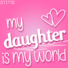 kristy: Daughter my World (Daughter is my World)