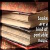 denorios: (books are magic)