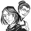 ysilme: Drawings of Snape and Minerva by Sigune (Minnie & Sev)