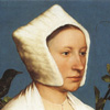 katanubis: Portrait of a woman with a squirrel and a starling, Holbein (Default)