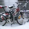 kamomil: (bikes in snowbank)