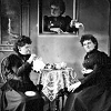 chamekke: Hannah Maynard's 'The Unexpected Tea Party' (ca.1893) (cha_hannah_maynard_tea)