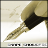 snapecase: (Snape Showcase)