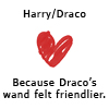 sagemuraken: (Harry/Draco Wand)