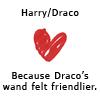 sagemuraken: (Harry/Draco Wand)