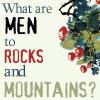 chalcedony: (men?)