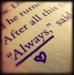 dragoon811: (Snape - Always (book))