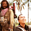 scaramouche: Baze and Chirrut from Rogue One: A Star Wars Story (star wars - space battle husbands)