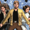 veleda_k: Han, Luke, and Leia from the Marvel Star Wars comic (Star Wars: Han&Luke&Leia)