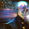 theidolhands: silver, featureless mask (Default)