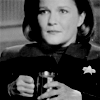 wintercreek: Janeway with co ee mug. ([ST:V] the finest organic suspension)