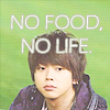 hikarikirameku: (No food no life)