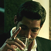 sylvertongue: Lucifer Morningstar, drinking (Lucifer - Wait For It)