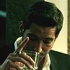 sylvertongue: Lucifer Morningstar, drinking (Lucifer - Wait For It)