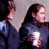 hollyslowly: Witchblade; Danny and Pez share coffee. (If the truth hurts you ain't livin right)