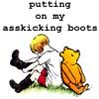 kitanzi: (asskicking boots - by andrabell)