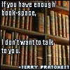wolffe: (book space)