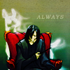 coloredbleach: (ALWAYS ALONE snape)