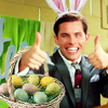 miggy: (Corny loves Easter)