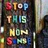 scordatura: (words: stop this nonsense)