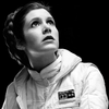 sharpest_asp: Leia looking up in the Hoth suit (Star Wars: Leia)