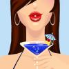 nanaeanaven: Vector art of Nanaea holding a Ravenclaw blue martini. (Default)