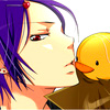 ch1ps0h0y: Mukuro kissing Hibird (Mukuro)
