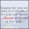 strangesequitur: There's a Monster at the End of This Post (Default)
