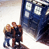 moyawyvern: (DW - Ten and Rosew/TARDIS and snow)