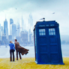 moyawyvern: (DW - Ten and Rose TARDIS New Earth)