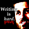 walking_tornado: (Writing is hard)