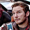 jedibuttercup: Peter Quill piloting the Milano (starlord)
